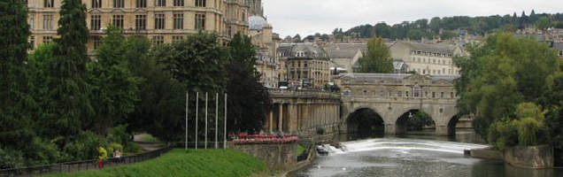 angol, Bath a Language Internationalnál.
