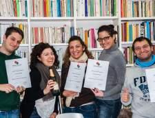 在那不勒斯的意大利语学校: Istituto Italia 150