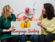 English schools in Barcelona: Language Surfing